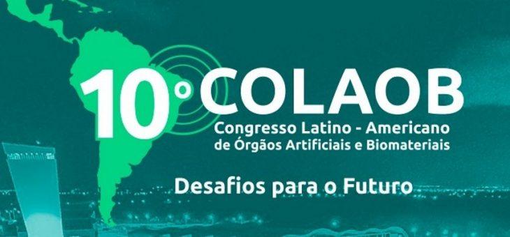 10ª Edição do Congresso Latino – Americano de Órgãos Artificiais e Biomateriais acontece em João Pessoa