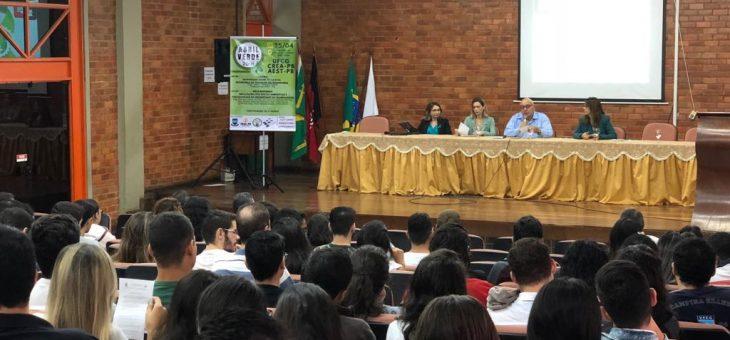 UFCG realiza evento 'Abril Verde', com palestras e mesa redonda, para discutir a Segurança no Trabalho