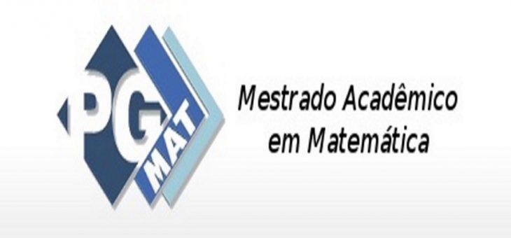Mestrado em Matemática da UFCG abre dez vagas para novos alunos