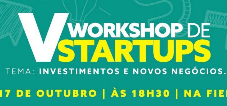Campina Grande recebe V Workshop de Startups nesta quarta
