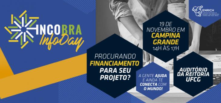 Inscrições abertas para o Incobra InfoDay Paraíba