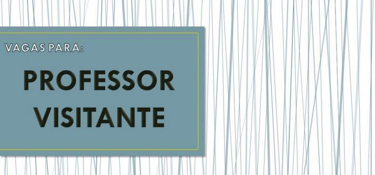 UFCG abre inscrições para seleção de professor visitante
