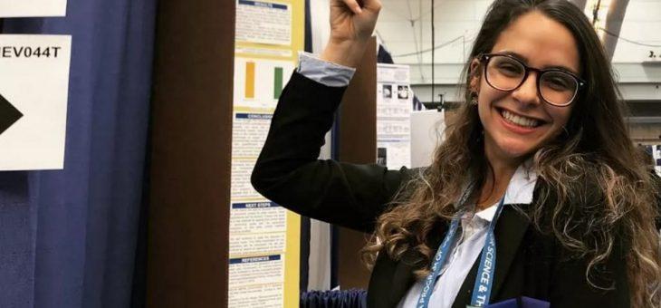 Jovem que criou plástico de maracujá será 1ª brasileira a assistir Nobel