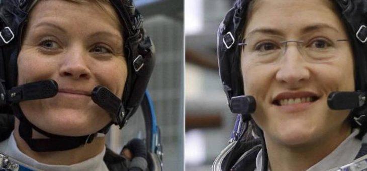 Teremos a primeira caminhada espacial 100% feminina este mês, anuncia Nasa