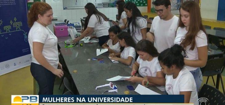 Projeto Engenheiras da Borborema, desenvolvido na UFCG, ganha destaque no Bom Dia Paraíba