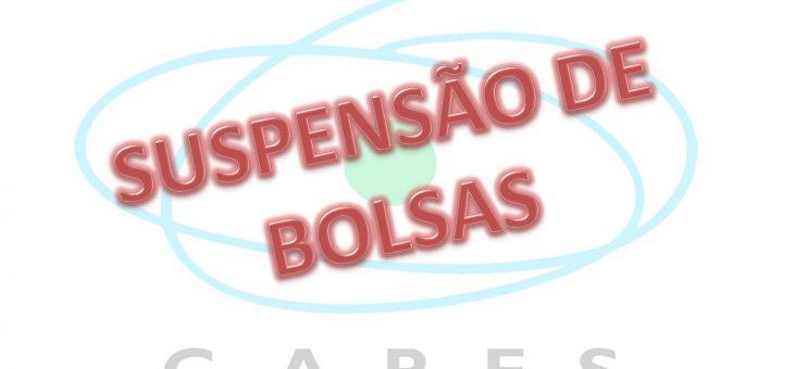 Capes suspende concessão de bolsas de Mestrado e Doutorado