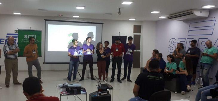 Campina Grande recebe evento internacional de StartUps. Alunos da UFCG ficam com 1º e 2º lugares