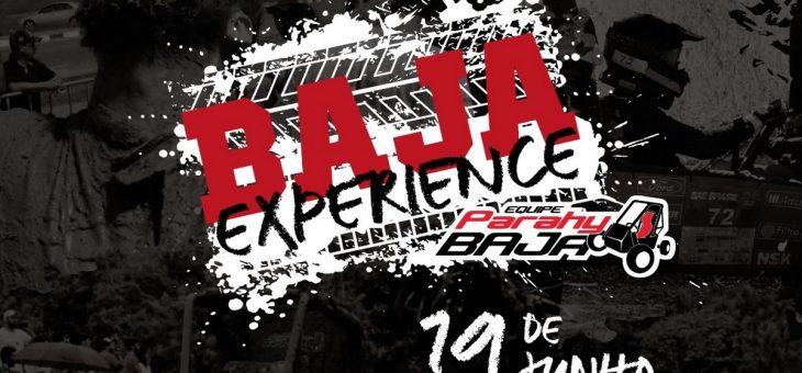"""Já pensou em pilotar um Baja? A """"Baja Experience"""" oferece essa oportunidade nesta quarta"""