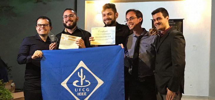 Alunos da UFCG conquistam várias premiações em evento nacional