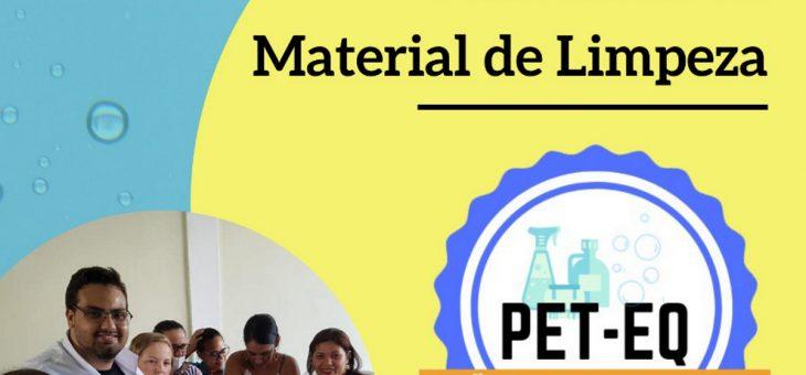 Alunos do PET-Engenharia Química realizam minicurso sobre produção de materiais de limpeza em hospitais
