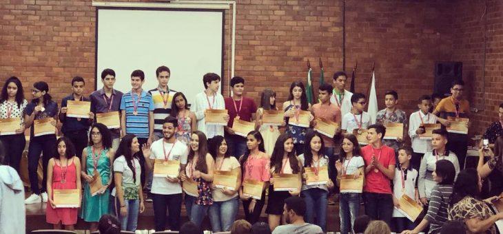UFCG sedia cerimônia regional de premiação da 14ª Olimpíada Brasileira de Matemática das Escolas Públicas (OBMEP)