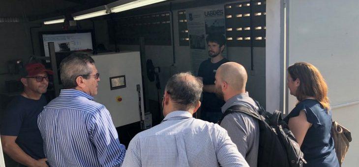 LABDES recebe visita de membros do Consulado Norte-Americano nesta quinta-feira