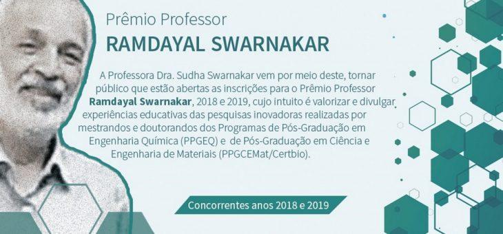 Em edição conjunta, Prêmio Professor Ramdayal Swarnakar enaltece mestrandos e doutorandos