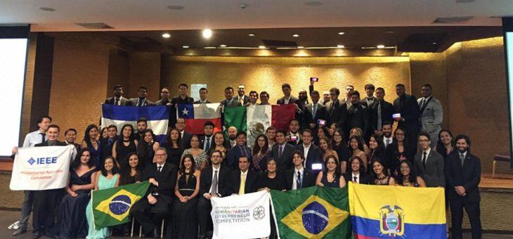 Ramo Estudantil da UFCG recebe prêmio na República Dominicana