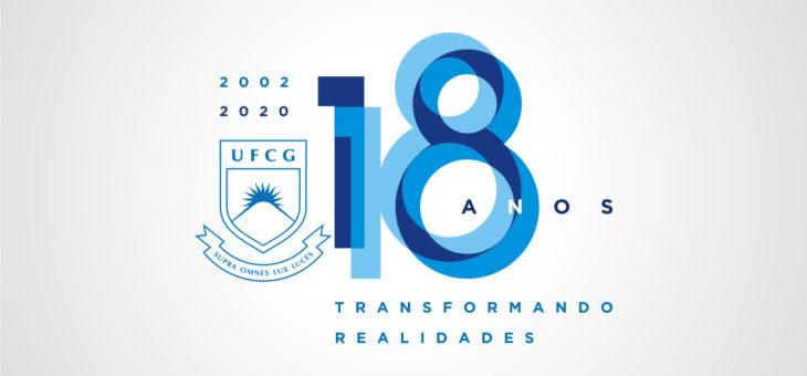 UFCG comemora 18 anos