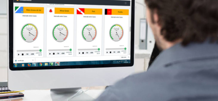 Professor da UFCG desenvolve ferramenta que monitora velocidade da Covid-19