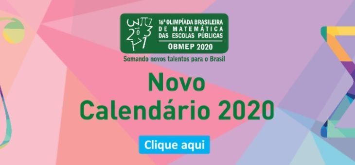 MATEMÁTICA – OBMEP 2020 divulga novo calendário
