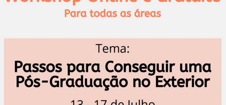"""Ex-aluno lança workshop """"Passos para Conseguir uma Pós-graduação no Exterior"""". Saiba como participar"""