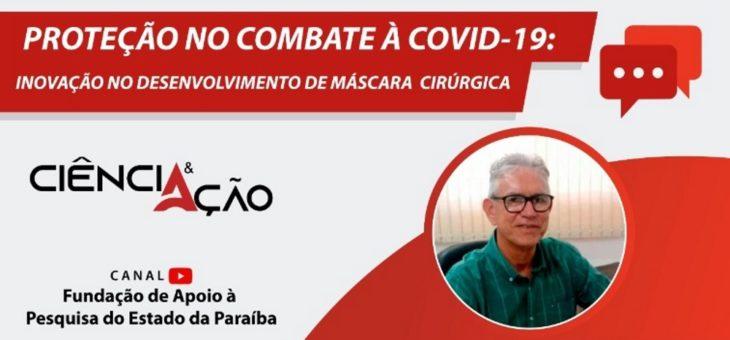 Professor da UFCG Marcus Lia Fook participa de live nesta quarta (22) sobre Proteção no Combate à Covid-19