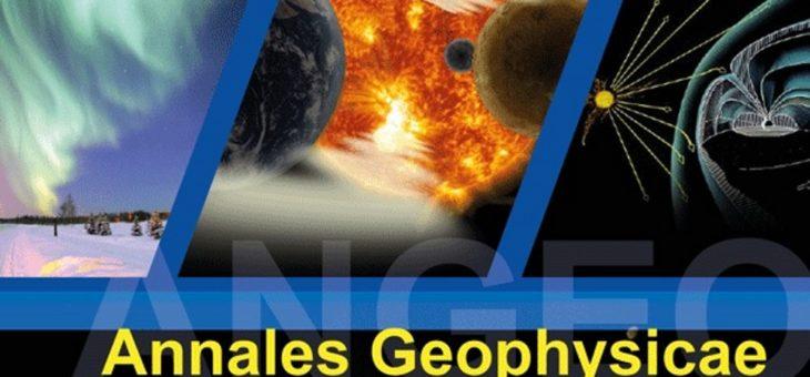"""Ex-aluno da UFCG de Engenharia de Petróleo publica artigo no periódico internacional """"Annales Geophysicae"""""""